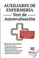 libro Auxiliares De Enfermería. Test De Autoevaluación. Osakidetza Servicio Vasco De Salud