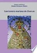 libro Cancionero Mariano De Charcas