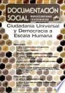 libro Ciudadania Universal Y Democracia A Escala Humana