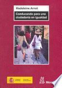 libro Coeducando Para Una Ciudadanía En Igualdad