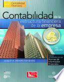 libro Contabilidad De La Estructura Financiera De La Empresa, 4a.ed.