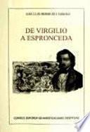 libro De Virgilio A Espronceda
