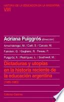 libro Dictaduras Y Utopías En La Historia Reciente De La Educación Argentina (1955 1983)