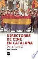 libro Directores De Cine En Cataluña