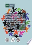 libro Diseño Y Ejecución De Planes, Proyectos Y Adaptaciones Curriculares Para El Tratamiento Educativo De La Diversidad