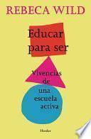 libro Educar Para Ser
