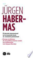 libro El Derecho Internacional En La Transición Hacia Un Escenario Posnacional