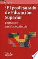 libro El Profesorado De Educación Superior