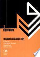 libro Elecciones Generales 2004