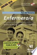 libro Enfermero/a. Servicio De Salud De Castilla Y León (sacyl). Test Del Temario