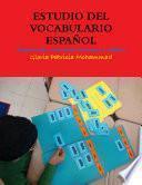 libro Estudio Del Vocabulario Español