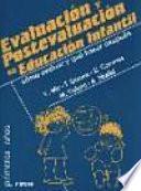 libro Evaluación Y Postevaluación En Educación Infantil