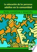 libro La Educación De Las Personas Adultas En La Comunidad