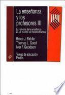 libro La Enseñanza Y Los Profesores