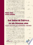libro Las Indias De Castilla En Sus Primeros Años