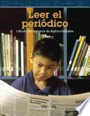 libro Leer El Periodico: Calculo Con Numeros De Digitos Multiples