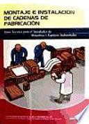 libro Montaje E Instalación De Cadenas De Fabricación