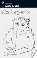 libro No Importa