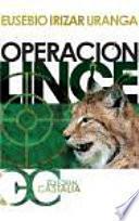 libro Operación Lince