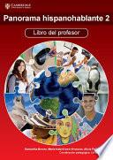 libro Panorama Hispanohablante 2 Libro Del Profesor