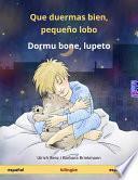 libro Que Duermas Bien, Pequeño Lobo   Dormu Bone, Lupeto. Libro Infantil Bilingüe (español   Esperanto)