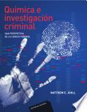 libro Química E Investigación Criminal