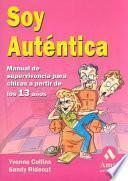 libro Soy Autentica