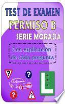 libro Test De Examen De Conducir Dgt Permiso B   Turismos
