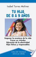 libro Tu Hija De 8 A 9 Años