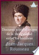 libro Discurso Sobre El Origen De La Desigualdad Entre Los Hombres