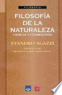 libro Filosofía De La Naturaleza, Ciencia Y Cosmología