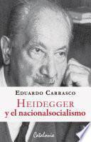 libro Heidegger Y El Nacionalsocialismo