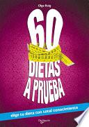 libro 60 Dietas A Prueba