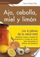 libro Ajo, Cebolla, Miel Y Limón