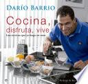 libro Cocina, Disfruta, Vive