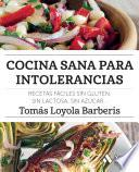 libro Cocina Sana Para Intolerancias