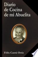 libro Diario De Cocina De Mi Abuelita