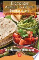 libro Elementos Esenciales De Una Buena Dieta