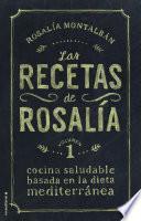 libro Las Recetas De Rosalía