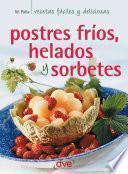 libro Postres Fríos, Helados Y Sorbetes
