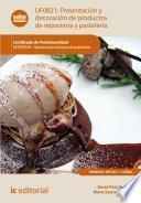 libro Presentación Y Decoración De Productos De Repostería Y Pastelería. Hotr0109