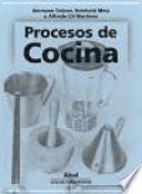 libro Procesos De Cocina