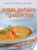 libro Sopas, Potajes Y Garbanzos