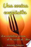 libro Una Cocina Exquisita.