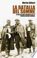 libro La Batalla Del Somme