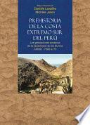 libro Prehistoria De La Costa Extremo Sur Del Perú