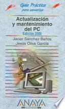libro Actualización Y Mantenimiento Del Pc