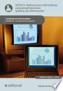 libro Aplicaciones Informáticas Para Presentaciones: Gráficas De Información. Adgn0108
