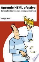 libro Aprende Html Efectivo