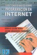 libro Cuestionario Básico Sobre Programación En Internet